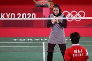 تمجید از بدمینتونباز تاریخساز ایران/ ثریا آقایی: احساس غرور میکنم