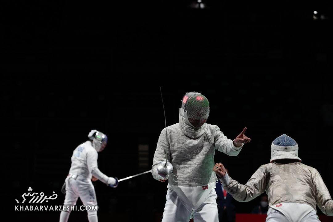 شکست سنگین شاگردان فخری مقابل مصر/ تیم شمشیربازی ایران ششم المپیک شد