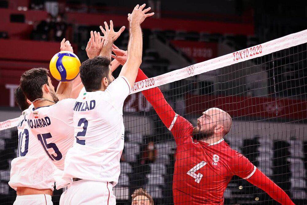 ویدیو  خلاصه مسابقه والیبال ایران ۰-۳ کانادا
