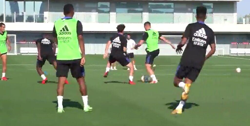 ویدیو| تمرین بازیکنان رئال مادرید پیش از آغاز فصل جدید