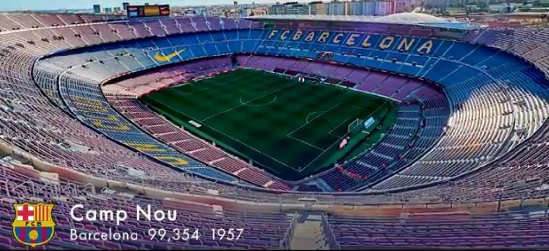 ویدیو| نگاهی به استادیوم های لالیگا در فصل ۲۰۲۱/۲۲