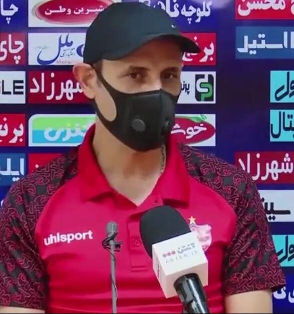 ویدیو| گل محمدی: خودم از تارتار می خواهم که بهترین خود را ارائه دهد
