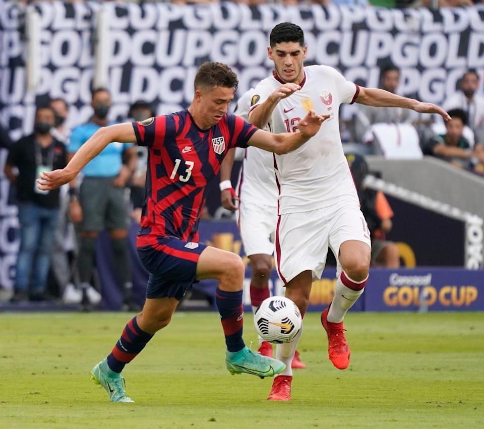 ویدیو| خلاصه بازی آمریکا ۱-۰ قطر (نیمه نهایی کونکاکاف)