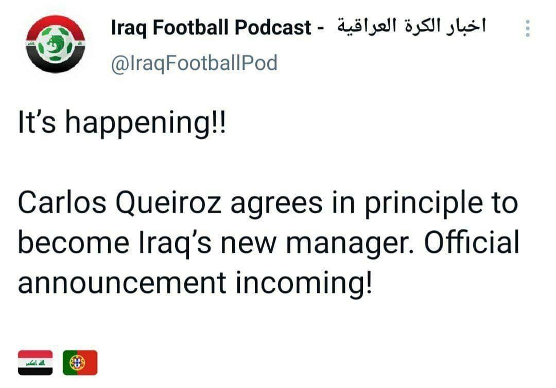 کیروش در عراق