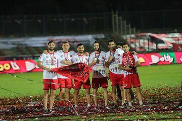 گزارش تصویری| جشن گلات قهرمانی پرسپولیس در لیگ بیستم