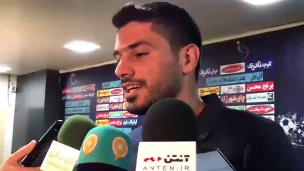 ویدیو| شایان مصلح: به هدف اصلی مان در این فصل رسیدیم