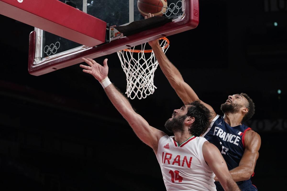 ویدیو| خلاصه مسابقه بسکتبال ایران ۶۲-۷۹ فرانسه
