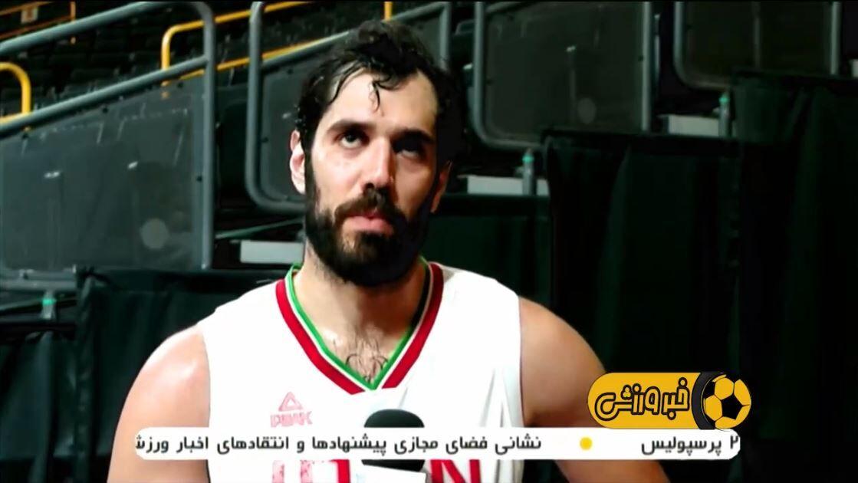ویدیو  عملکرد نمایندگان ایران در روز نهم و مصاحبه اعضای تیم ملی بسکتبال پس از دیدار با فرانسه