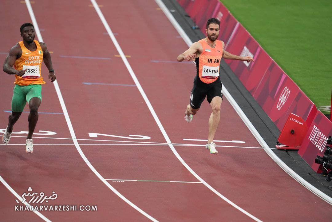جایگاه دونده ایرانی در المپیک مشخص شد
