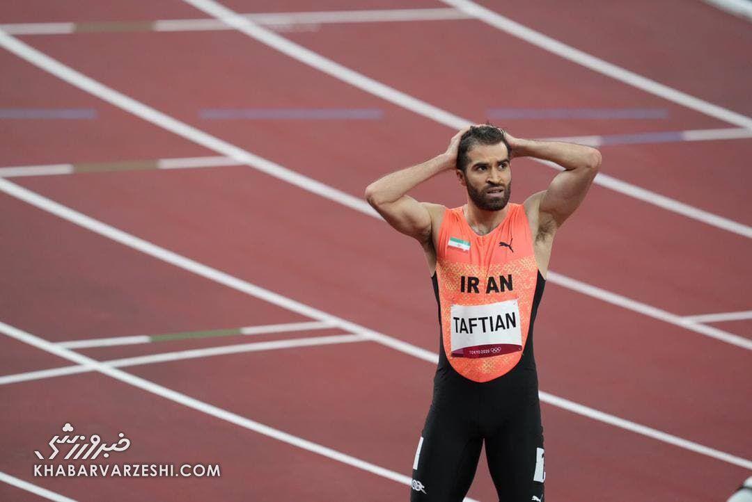 سریعترین مرد ایران از راهیابی به مرحله بعد بازماند