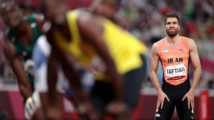ویدیو  کسب مقام چهارم حسن تفتیان در دو ۱۰۰ متر