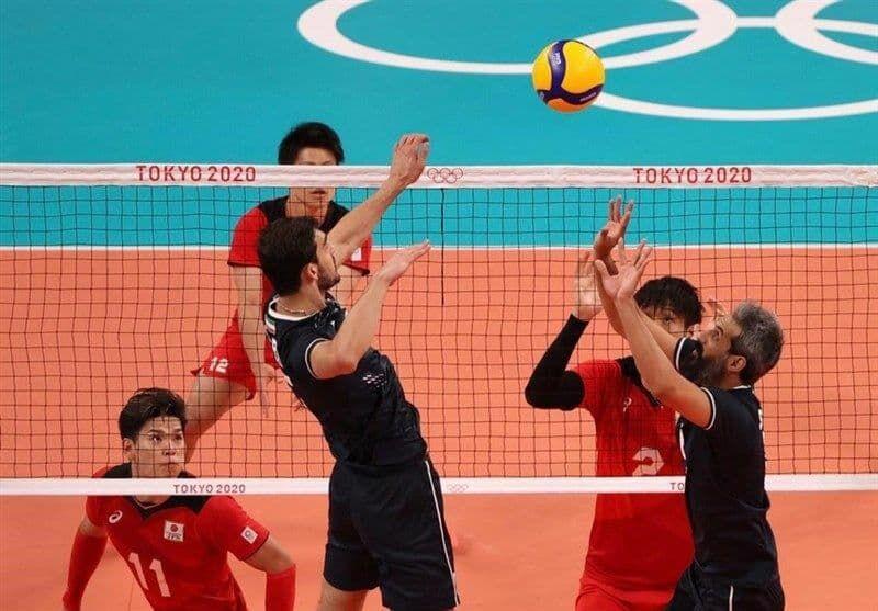 ویدیو| خلاصه والیبال ایران ۲-۳ ژاپن/ لحظه حذف تیم ملی والیبال ایران از المپیک