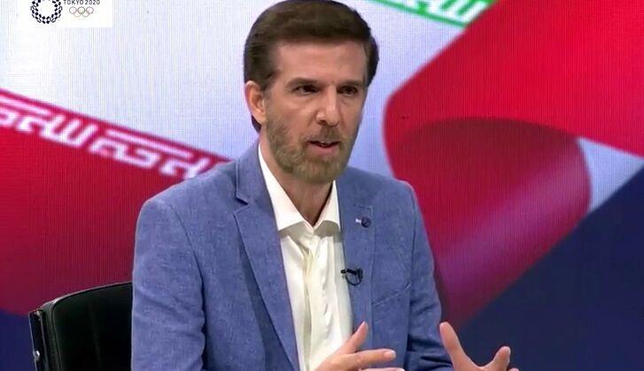 ویدیو| صحبتهای جنجالی همراه با بغض گزارشگر والیبال ایران - ژاپن