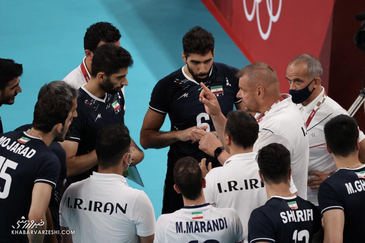 درخواست جالب آلکنو پس از حذف والیبال ایران از المپیک توکیو