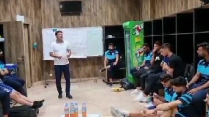 ویدیوی مهم از رختکن پیکان در واکنش به ادعای کمکاری مقابل پرسپولیس