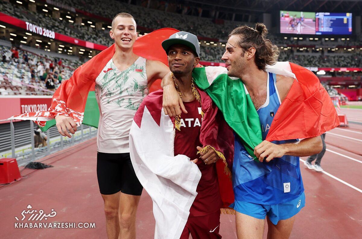 دونده قطری و ایتالیایی