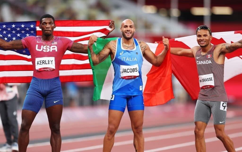 ویدیو| فینال دو صد متر و قهرمانی دونده ایتالیایی