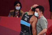 عکس| گریههای گرایی پس از ناکامی در کسب مدال طلا