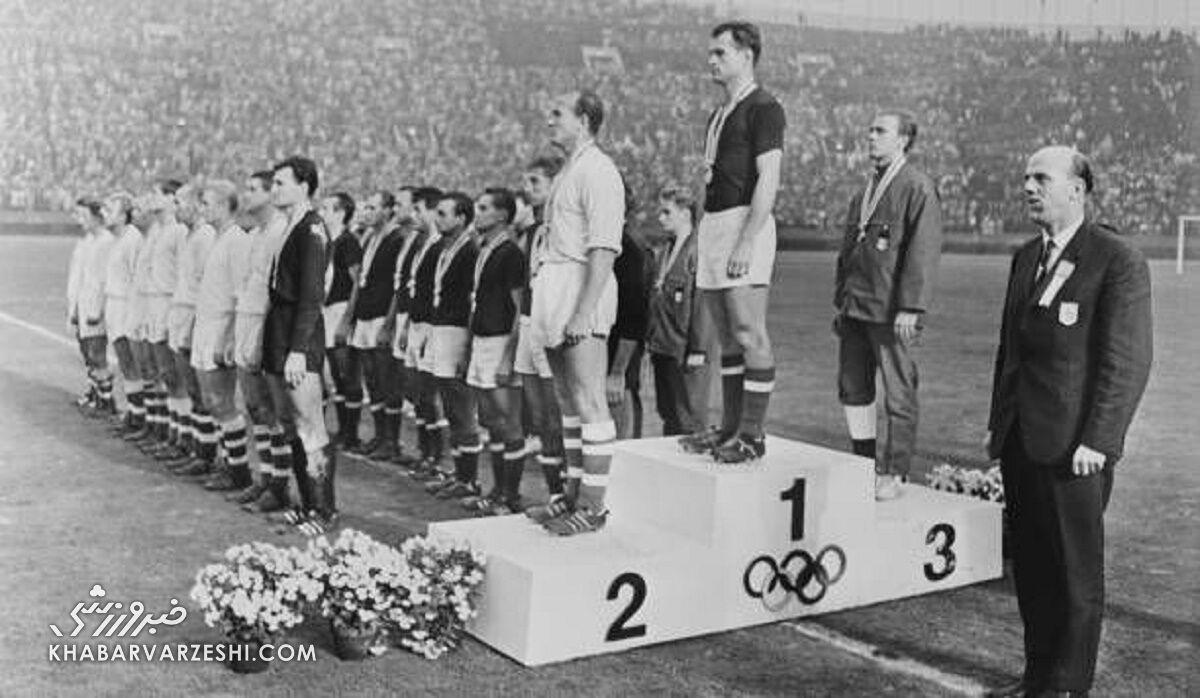 تاریخ فوتبال المپیک (1964 - مجارستان)
