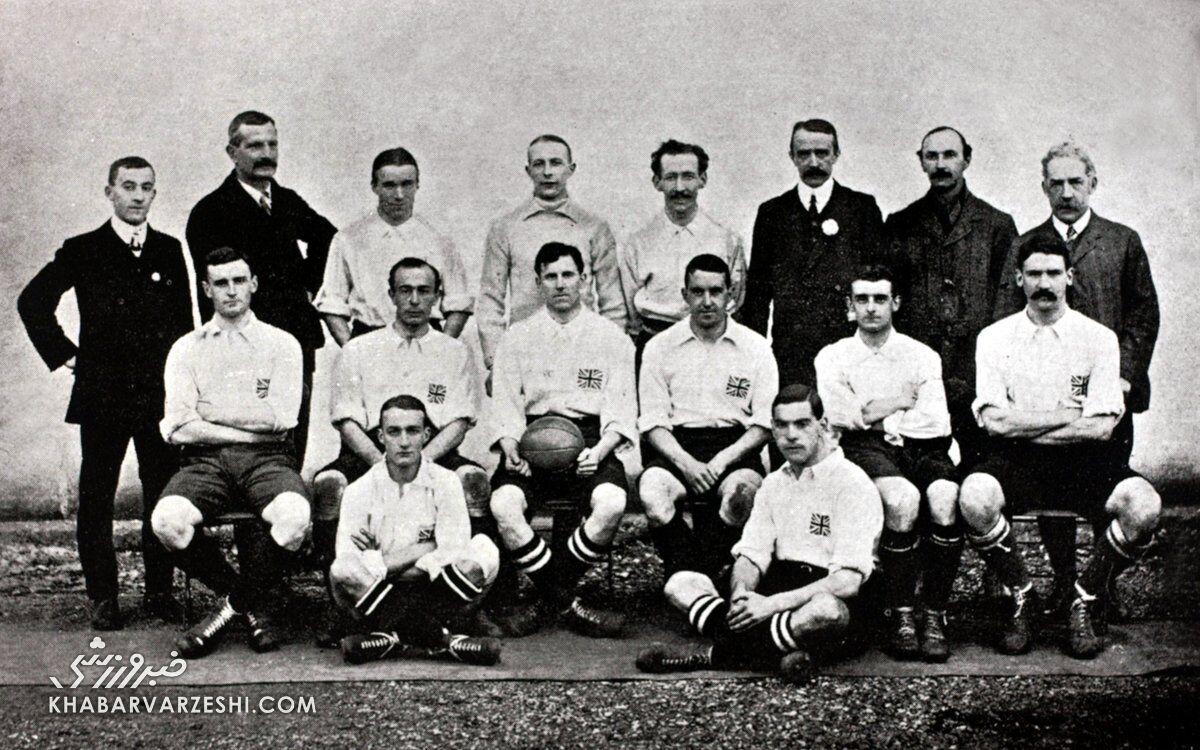 تاریخ فوتبال المپیک (1908 - بریتانیا)