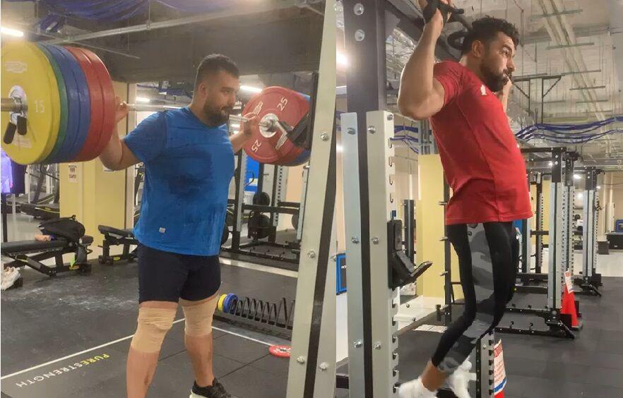 ویدیو| تمرین علی هاشمی و علی داوودی در دهکده ورزشکاران توکیو