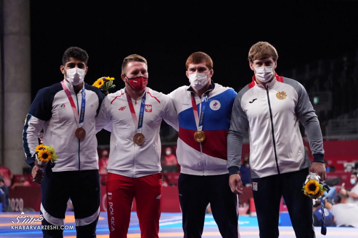محمدهادی ساروی - مدال برنز (المپیک 2020)