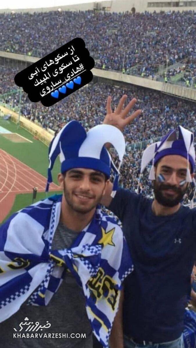 عکس  خوشحالی جنجالی استقلالیها از قهرمانی یک کشتیگیر ایران/ کریخوانی با یک تصویر