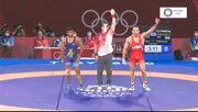 ویدیو| پیروزی قاطع تیلور آمریکایی در نیمه نهایی و رویارویی با حسن یزدانی در فینال