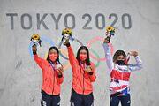 دخترهای نوجوان باز هم مدالها را بردند