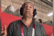 ویدیو| پشت صحنه گزارش جذاب هادی عامل در المپیک ۲۰۲۰