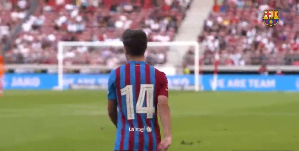 ویدیو| عملکرد فوق العاده گاوی پدیده ۱۶ ساله بارسلونا مقابل اشتوتگارت