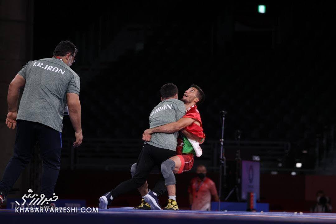 قهرمانی محمدرضا گرایی در کشتی فرنگی المپیک 2020
