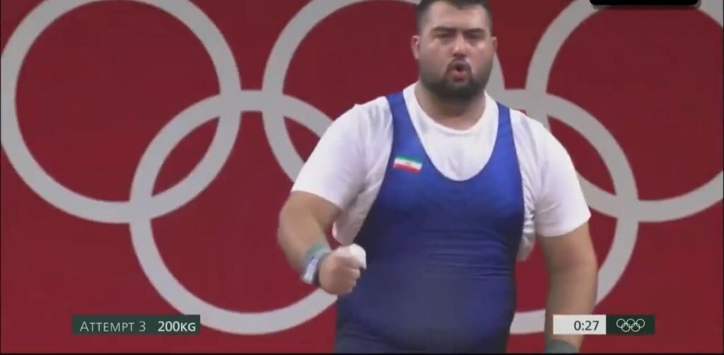 ویدیو  حرکات یک ضرب علی داوودی در ۱۰۹+ کیلوگرم