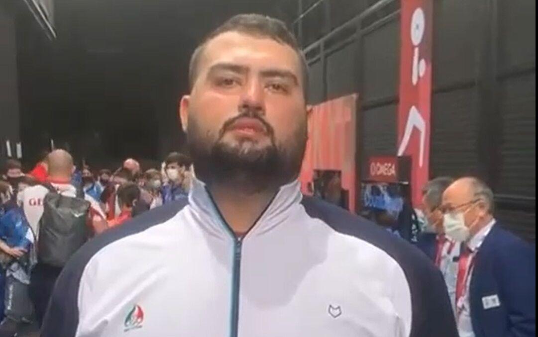 ویدیو  صحبتهای علی داوودی پس از کسب مدال نقره