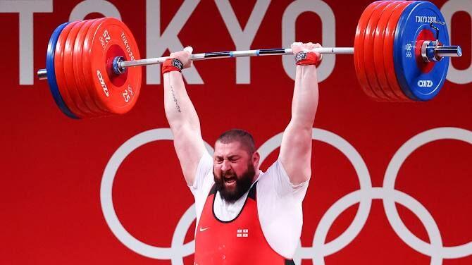 ویدیو| ثبت رکورد سنگینترین وزنه در جهان توسط تالاخادزه در المپیک توکیو