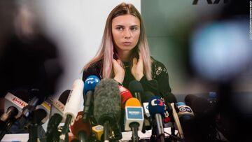 سرنوشت دختر جنجالی المپیک مشخص شد/ او به لهستان رفت