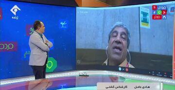 ویدیو  خاطره جالب هادی عامل از لحظه طلا گرفتن محمدرضا گرایی