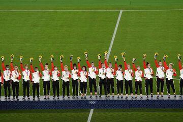 سوئد ۱ (۲) - کانادا ۱ (۳)/ طلای فوتبال زنان به کانادا رسید