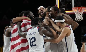 ویدیو  خلاصه بسکتبال آمریکا ۸۷-۸۲ فرانسه (فینال المپیک ۲۰۲۰)
