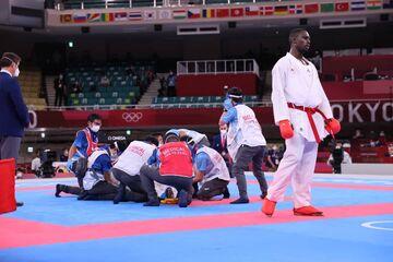 سجاد گنجزاده از هوش رفت و قهرمان المپیک شد/ بهت نماینده عربستان پس از نظر داوران