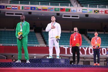 هیجانانگیزترین طلای ایران در المپیک/ سجاد گنجزاده با مشورت داوران قهرمان المپیک شد