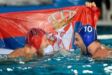 صربستان قهرمان واترپلوی المپیک شد