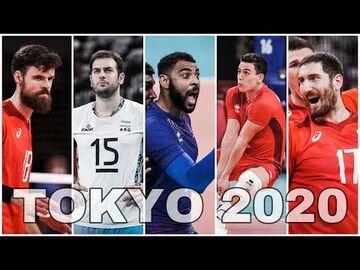 ویدیو  تیم منتخب والیبال المپیک توکیو ۲۰۲۰