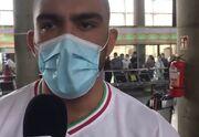ویدیو| امیرحسین زارع: امیدوارم در المپیک پاریس طلا بگیرم