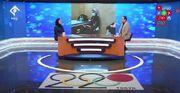 ویدیو  واکنش هانیه رستمیان به تصویر کتاب خواندنش پیش از شروع مسابقه