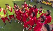 ویدیو  تمرین تیم ملی فوتبال بانوان زیر نظر مریم ایراندوست