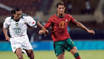 ویدیو  عملکرد فوق العاده کریستیانو رونالدو در المپیک ۲۰۰۴