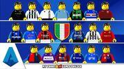 ویدیو| شبیه سازی تیم های سری آ ایتالیا فصل ۲۰۲۱/۲۲ با عروسک لگو