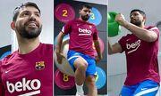 ویدیو  آمادگی آگوئرو برای نخستین بازی در بارسلونا