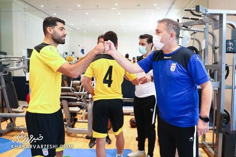 تمرین تیم ملی ایران (14 شهریور 1400)